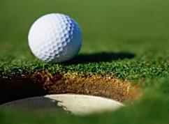 Golfboll red